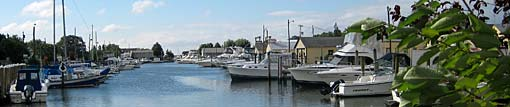 Neguntatogue Creek Marinas, East Shore Road in Lindenhurst NY